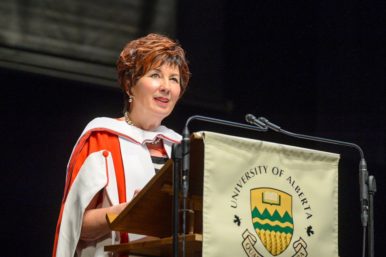 The Honourable Claudette Tardif, honorary doctor of laws