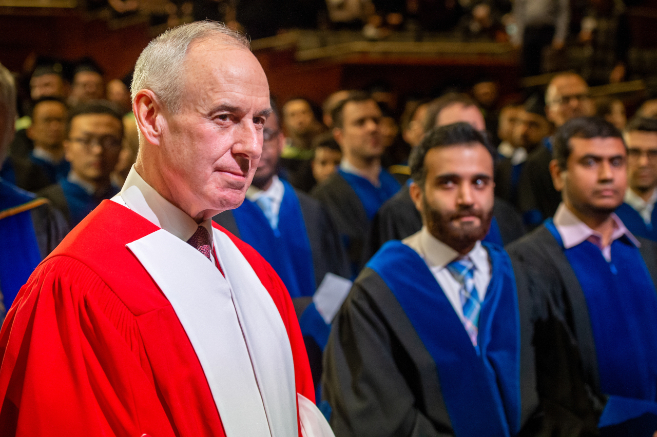 Ron MacLean, honorary doctor of laws