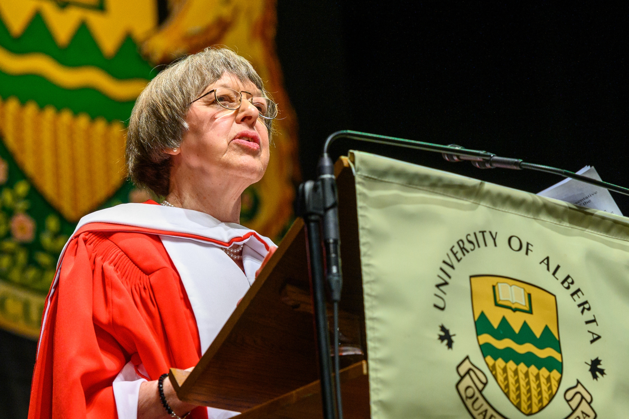 Carol Cass, honorary doctor of science