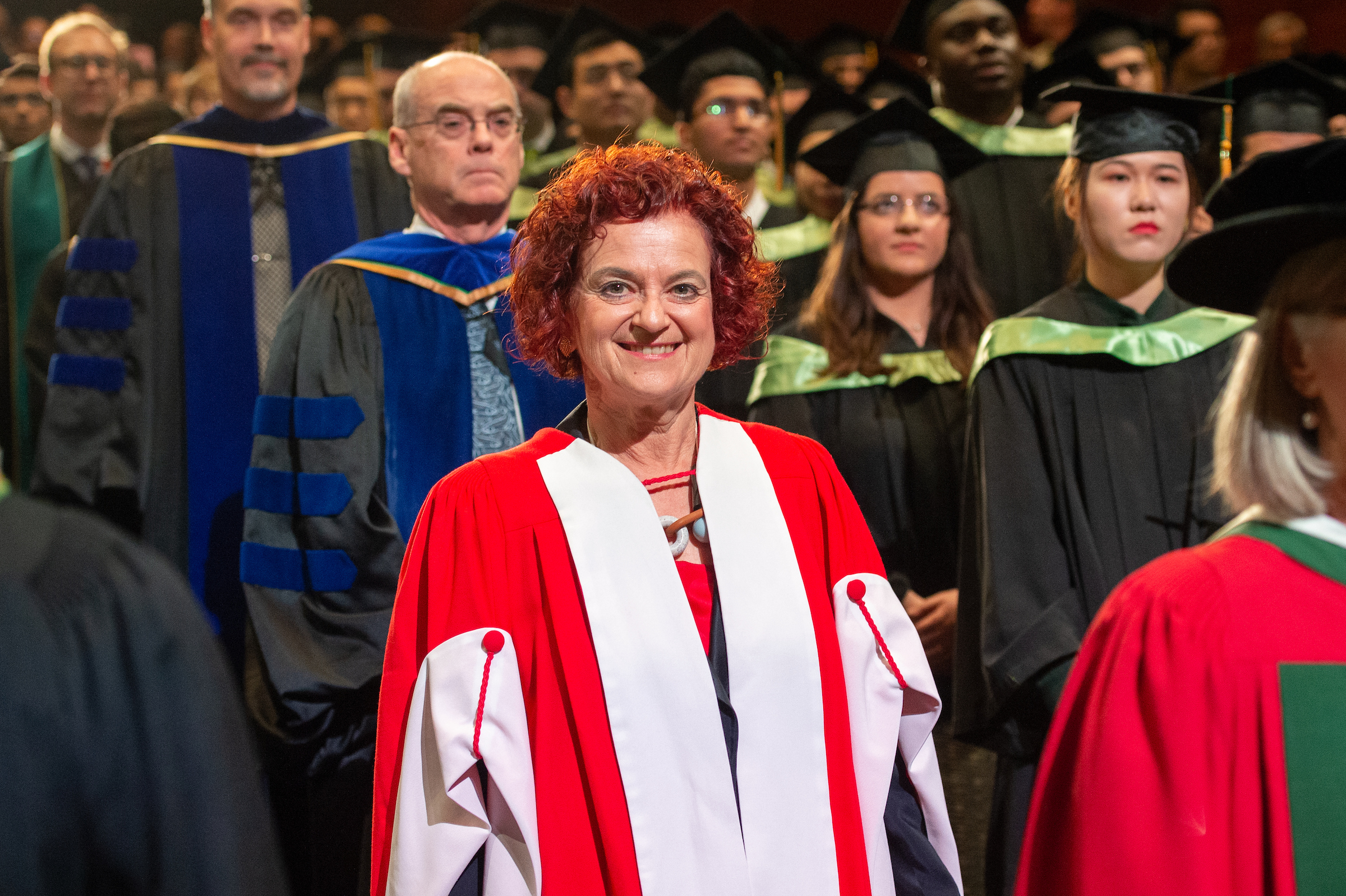 Vivian Manasc, honorary doctor of laws