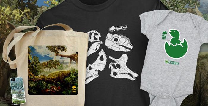 Dino 101 merchandise