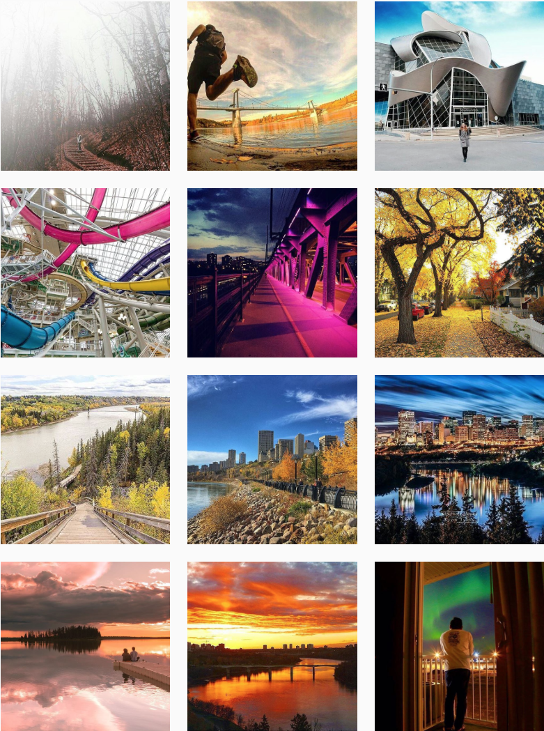 Explore Edmonton on Instagram