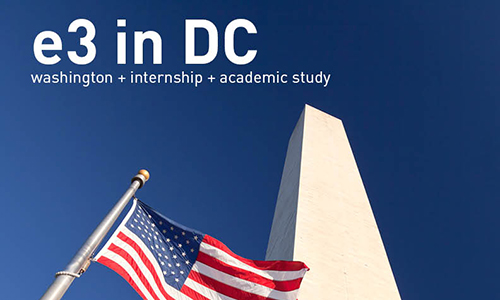 e3 in dc internship