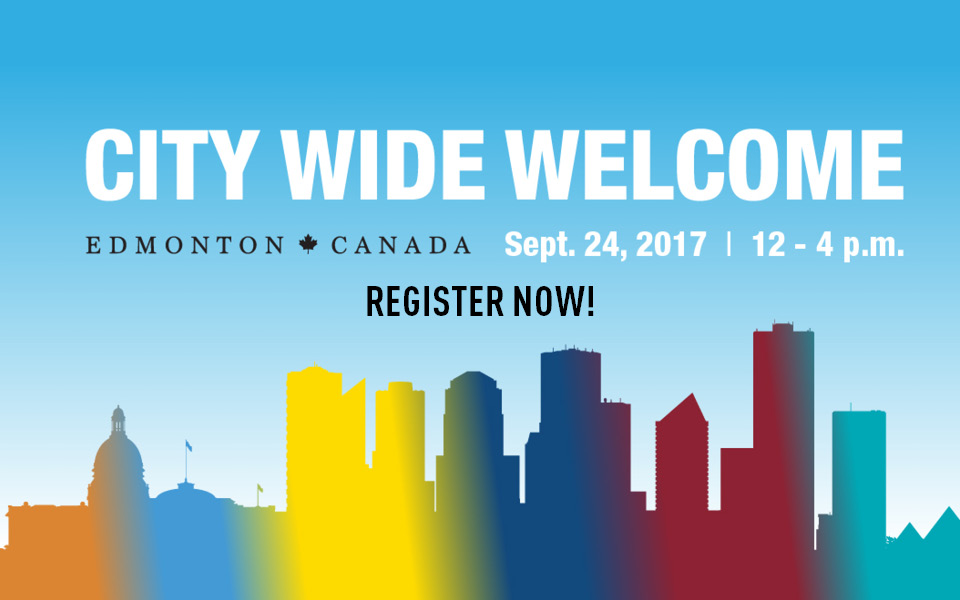 City Wide Welcome Event