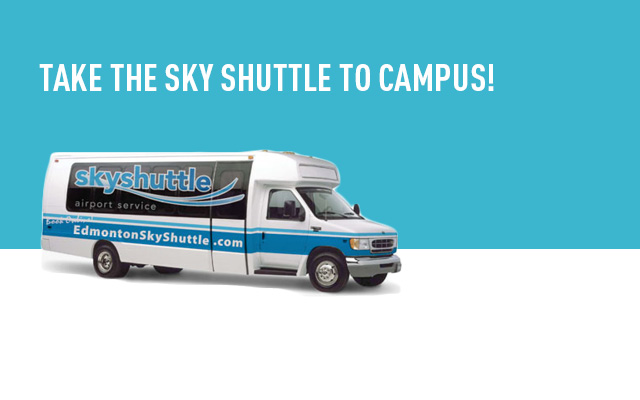 Sky Shuttle to campus!