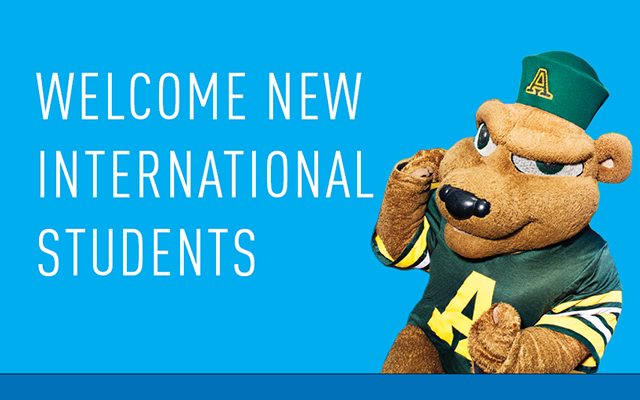 Welcome new international students