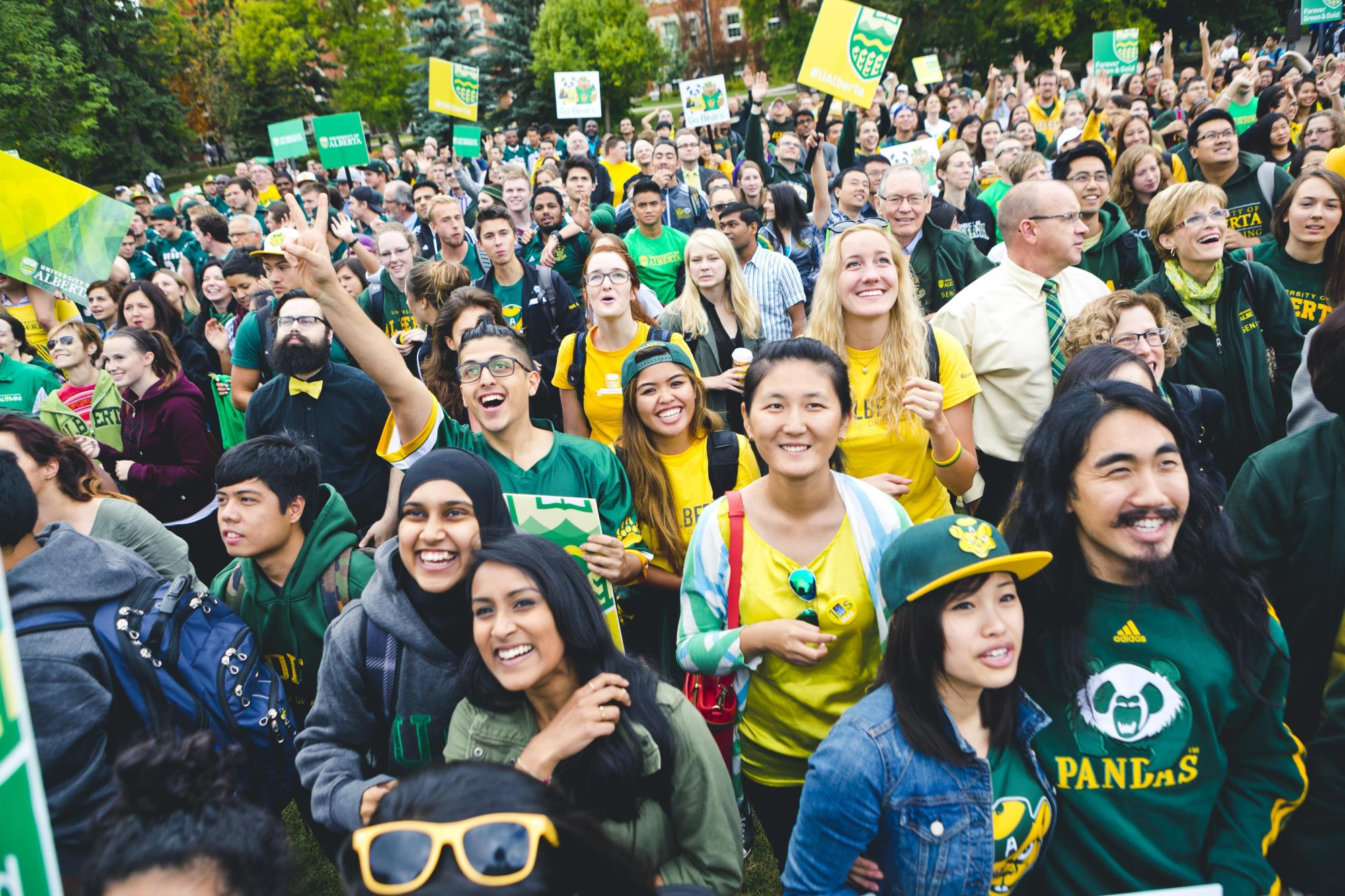 green gold students ualberta