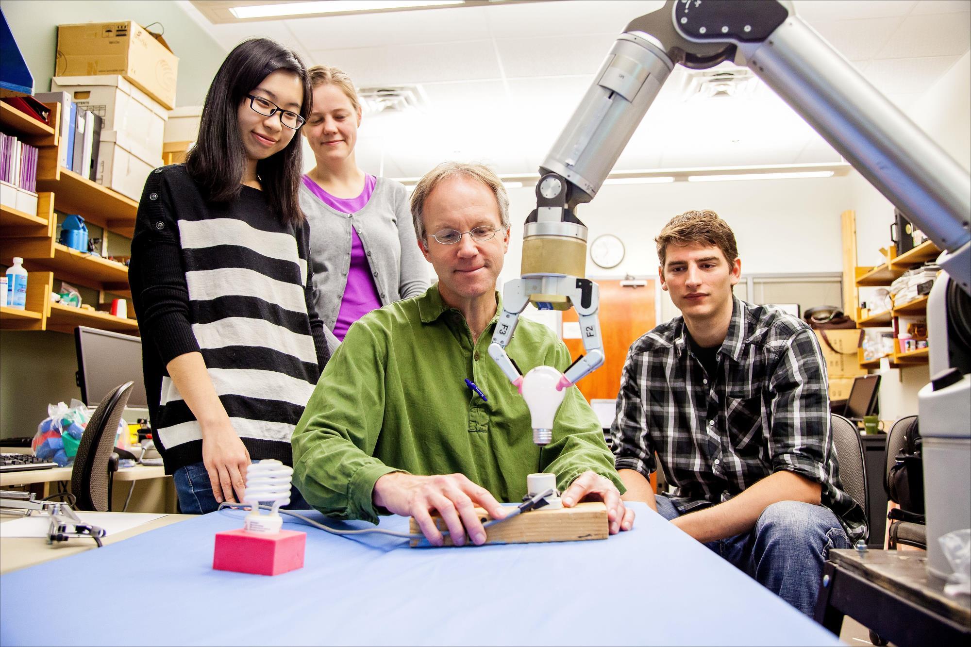students research robotics internship