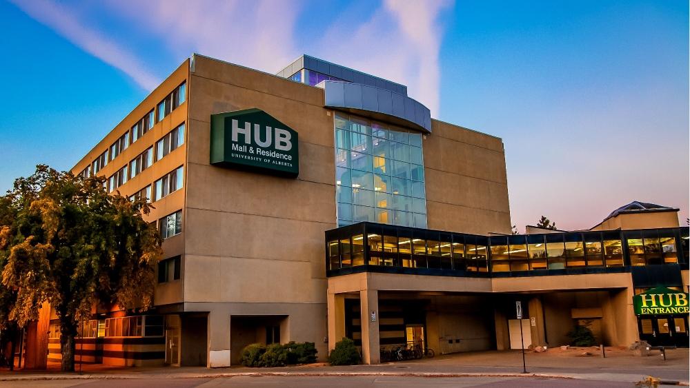 hub residence sunset
