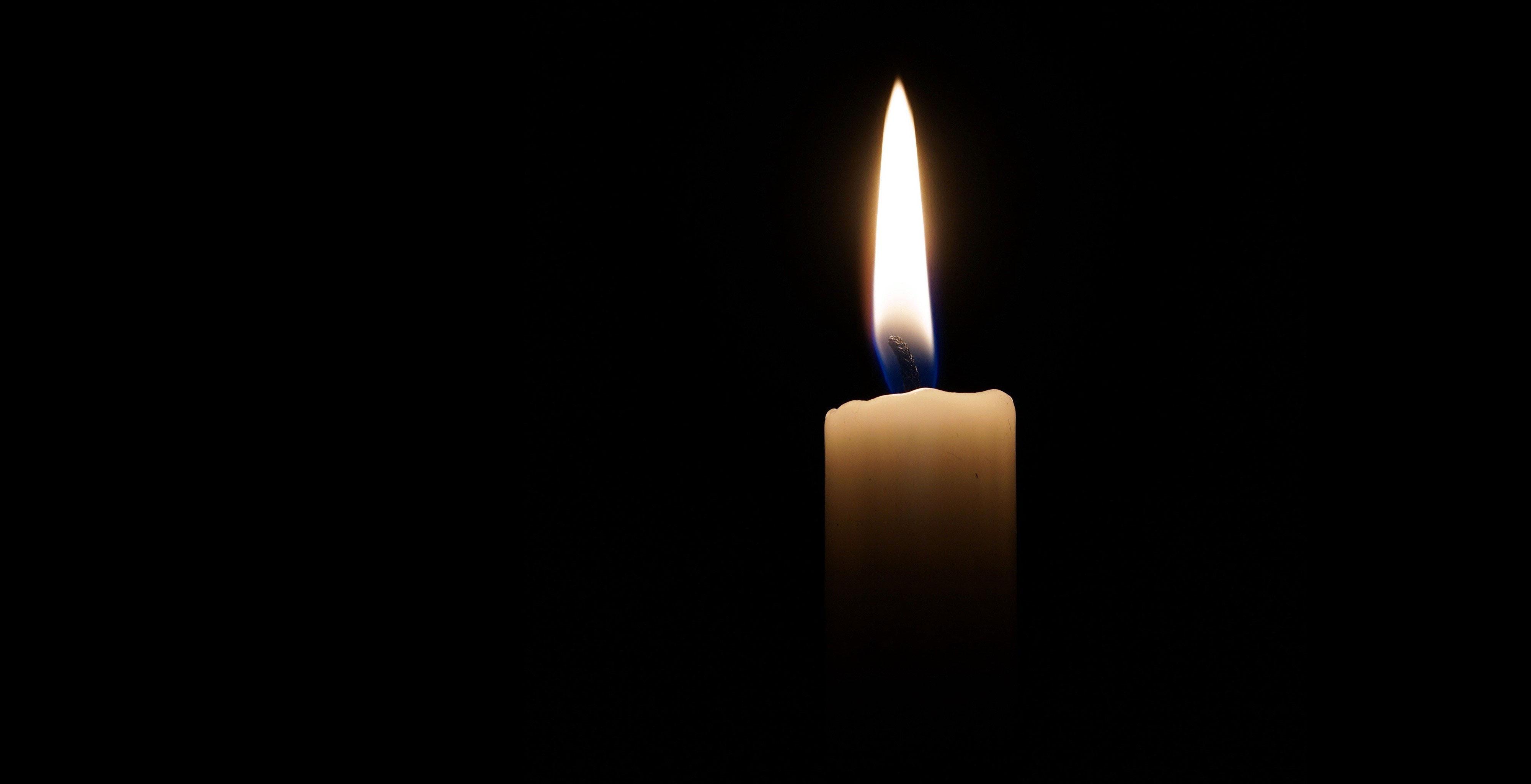 A Memorial Candle