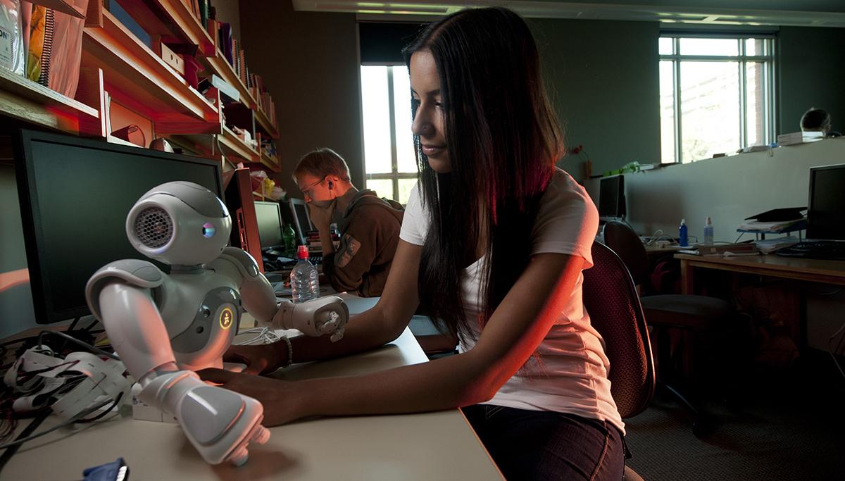 University of Alberta students explore artificial intelligence and robotics