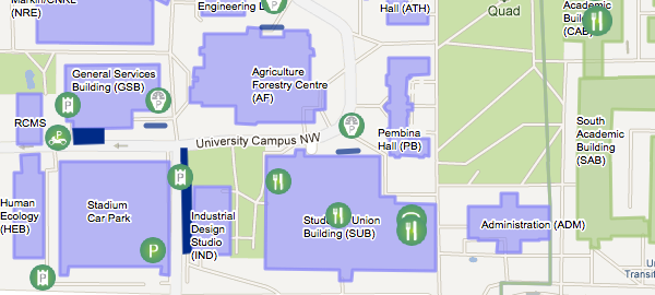 Campus Life University Of Alberta - U of a campus map