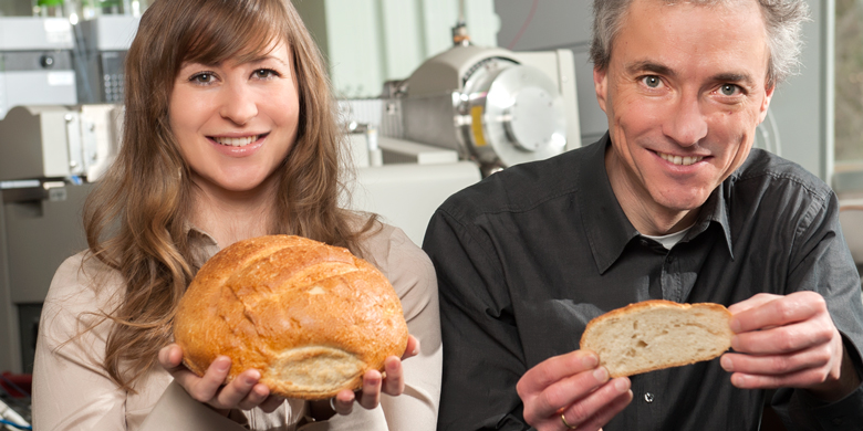 UAlberta researchers Michael Gänzle and Brenna Black studied sourdough for a bread-preserving breakthough.