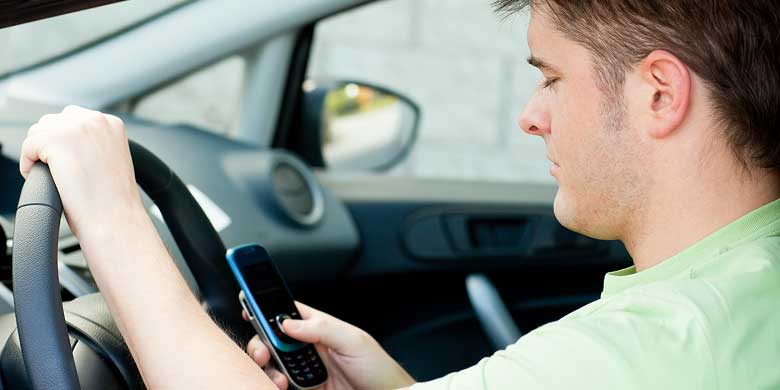 UAlberta researcher Abu Nurullah developed a demographic profile of people likely to drive while using a cellphone.