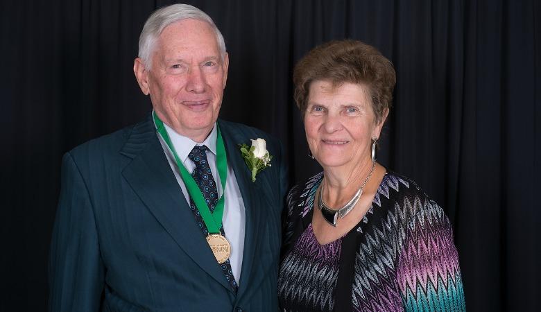 Jim and Marlene Sorensen at Alumni Weekend