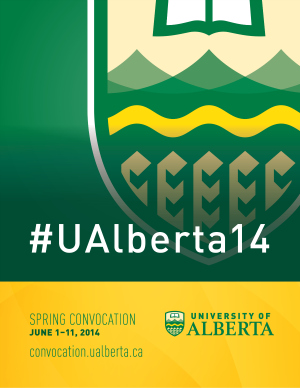 #UAlberta14 sidebar image with link to convocation.ualberta.ca