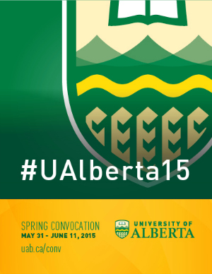 UAlberta Spring Convocation 2014 web graphic