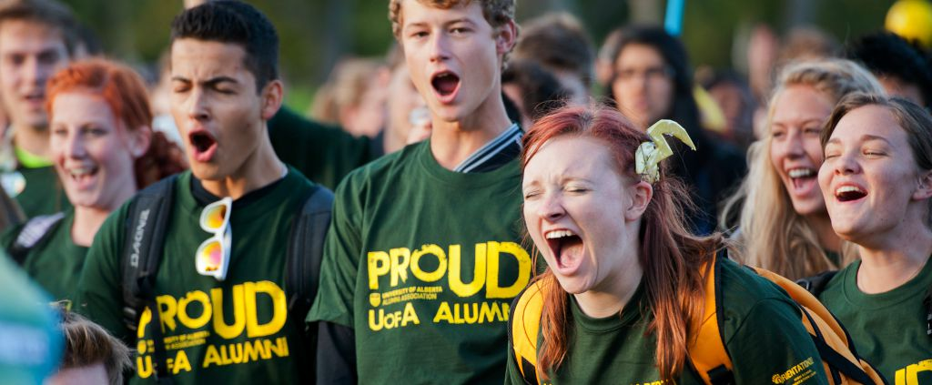 September is a month to cheer at the University of Alberta.
