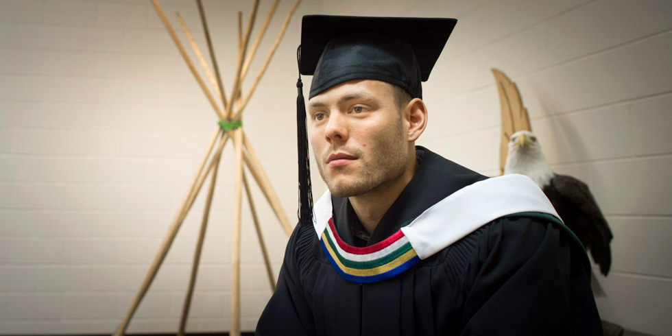 Isaac Tyler, '15 BA in Native Studies