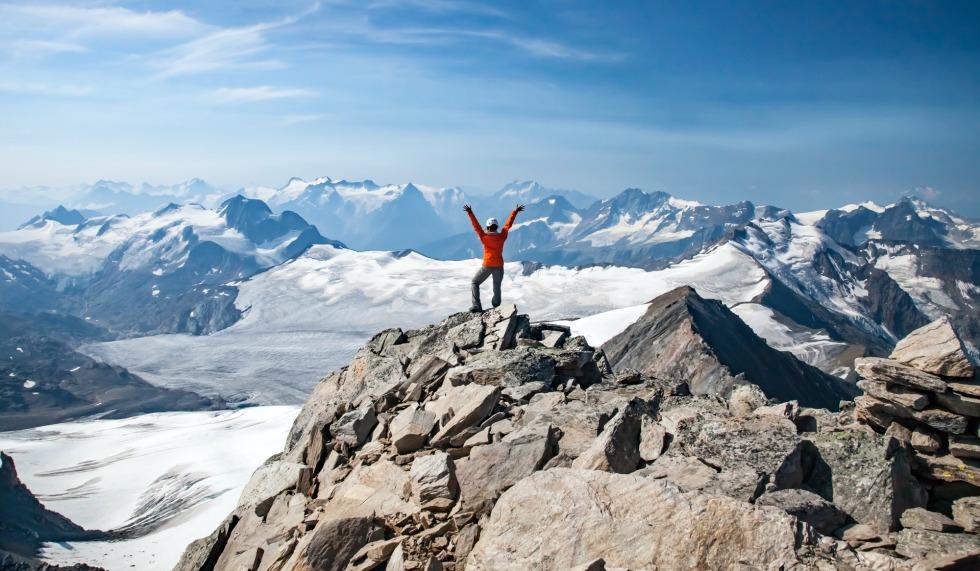 UAlberta student celebrates reaching a peak in B.C.
