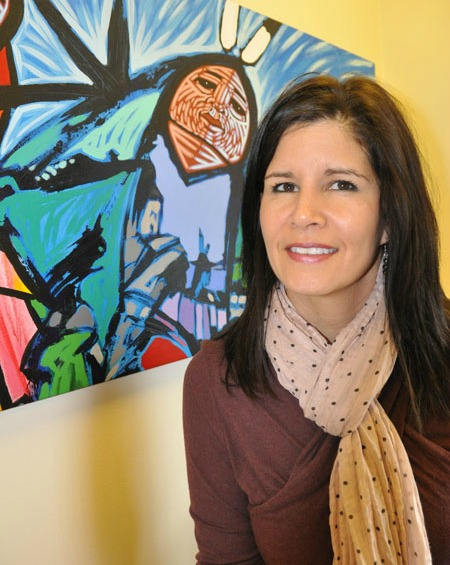 PhD candidate Tracy Bear teaches a course on Indigenous erotica in UAlberta's Faculty of Native Studies.