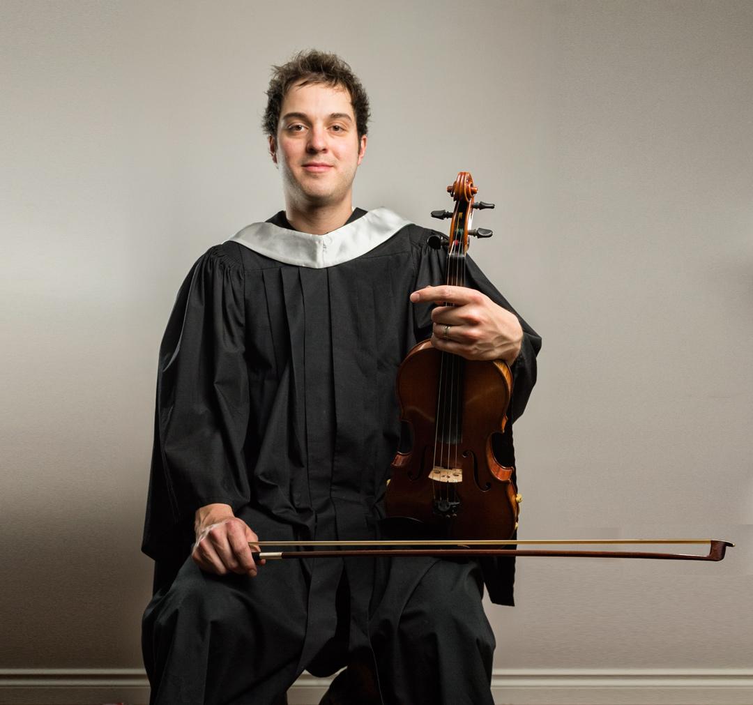 Daniel Gervais, violin virtuoso