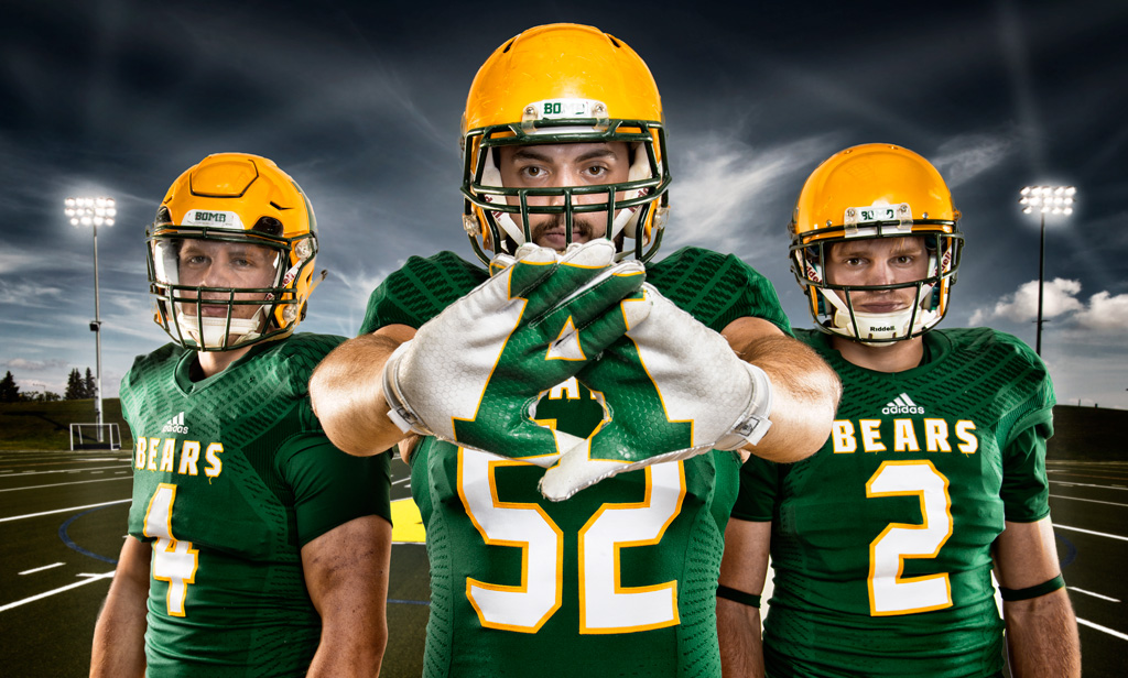 Golden Bears football players are ready for the 2014-15 season.