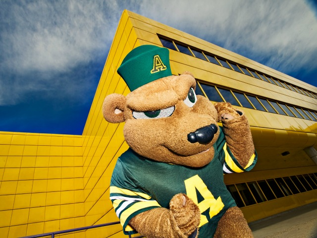 UAlberta wallpaper: GUBA at the Butterdome