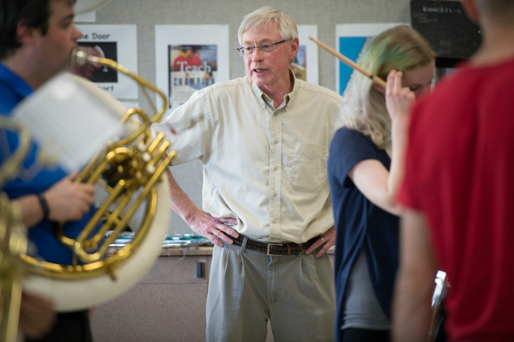 Tom Dust, professor of music education in the Faculty of Education