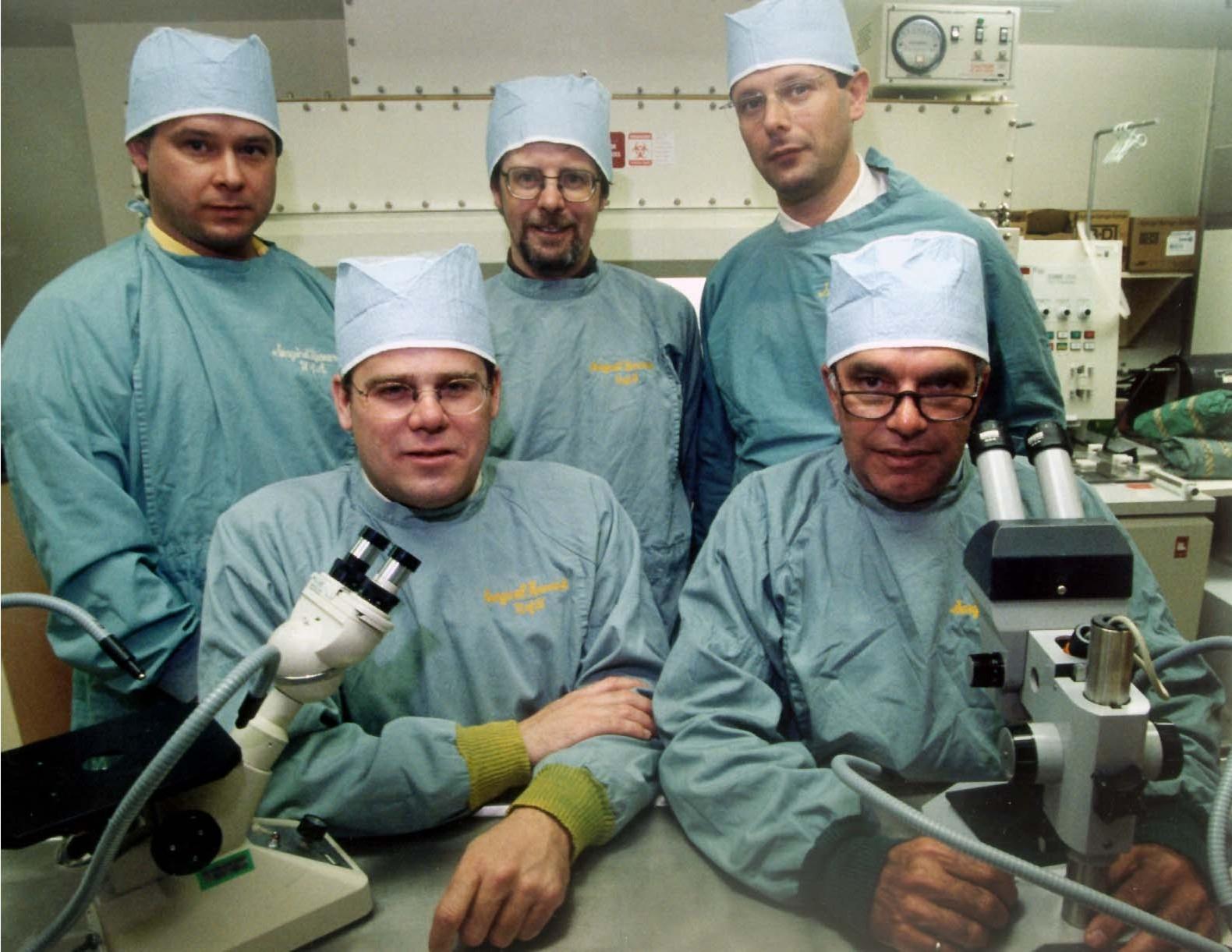 Edmonton Protocol team