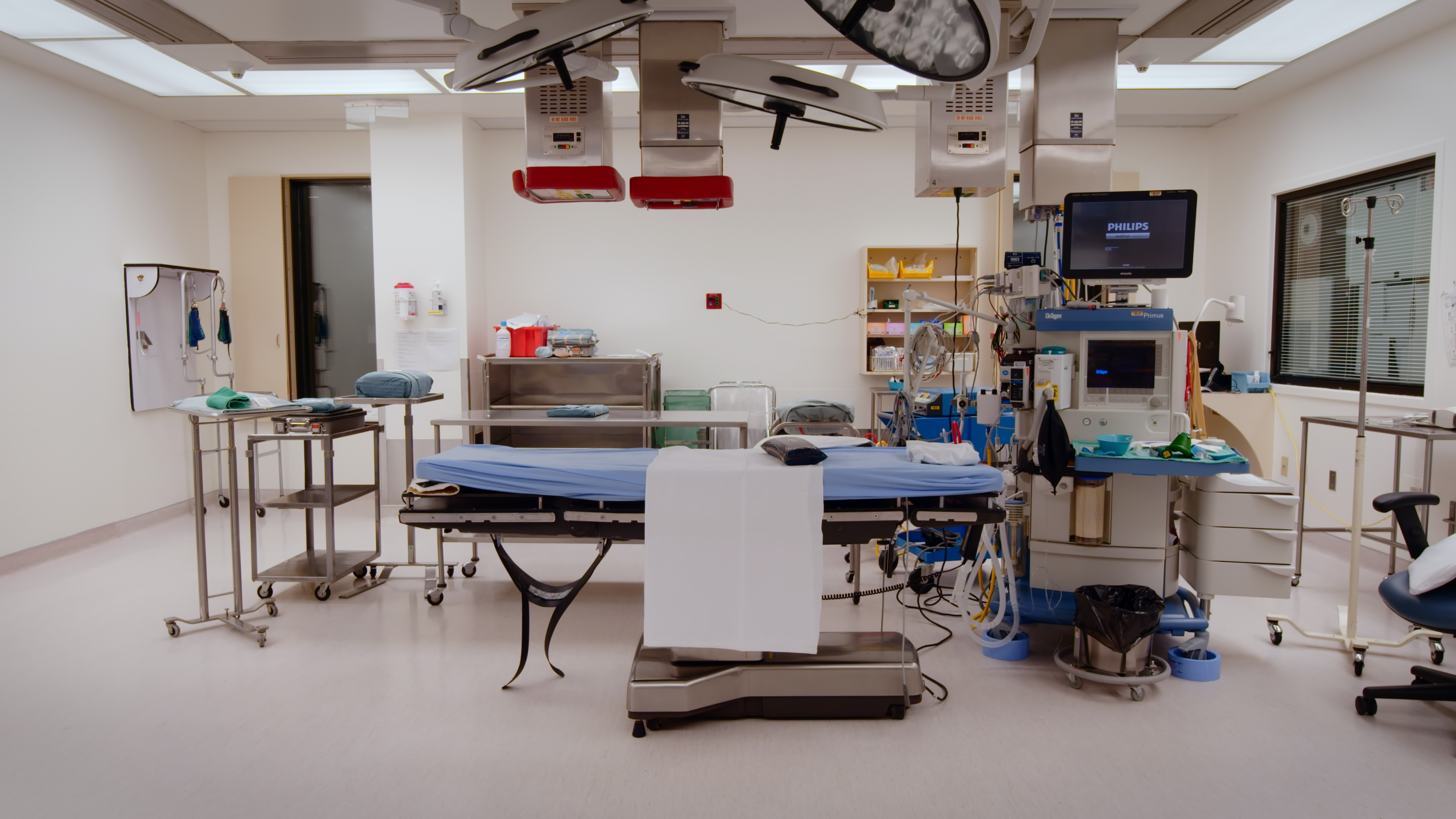 Operating room at the University of Alberta Hospital