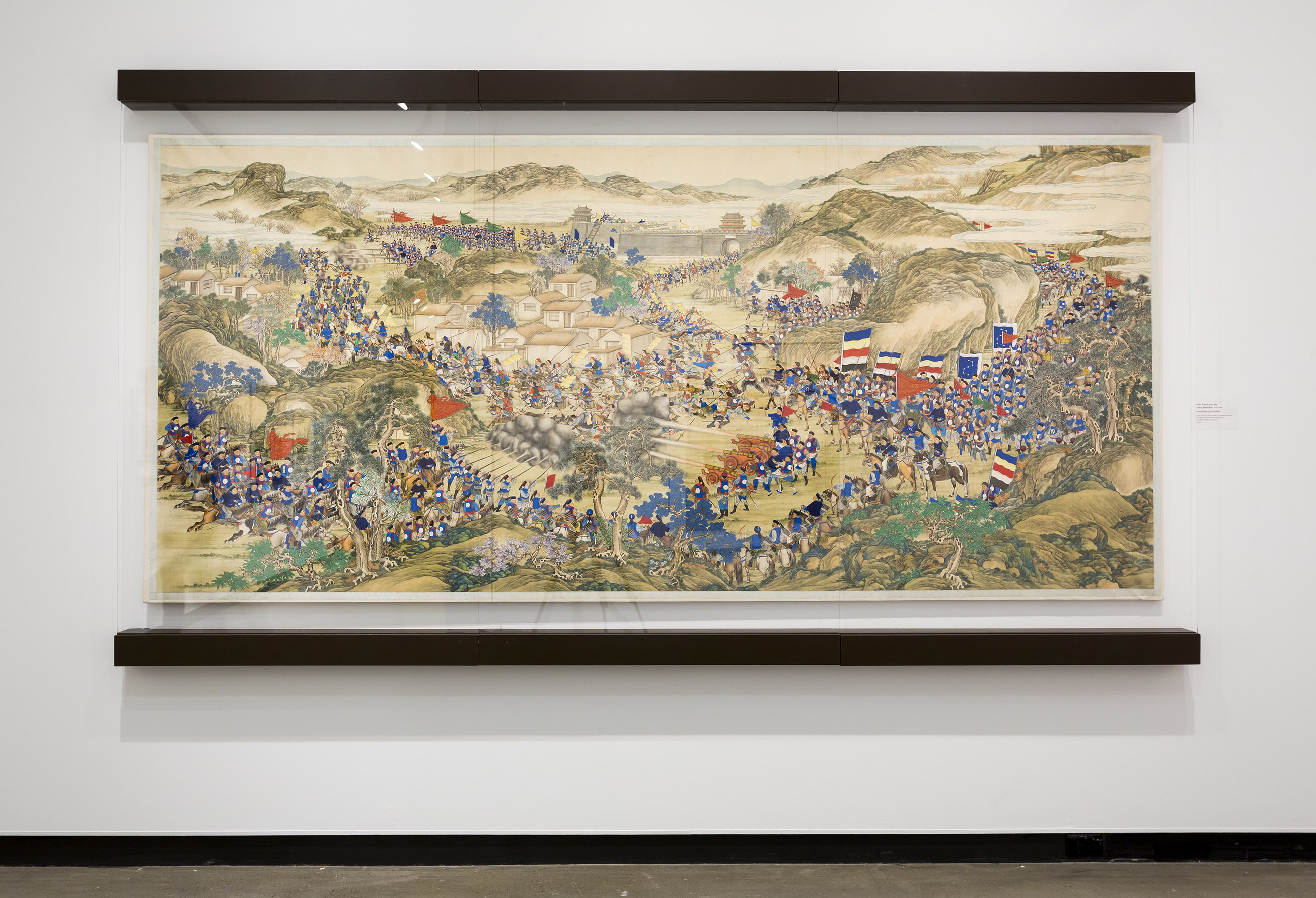 Mactaggart Art Collection - Battle Scene Painting