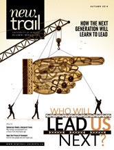 New Trail Autumn 2014 cover