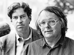 Owen Beattie and John Geiger in 1988