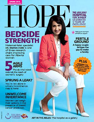 HOPE, magazine, Lois, Hole, Hospital, Women, health, education, clinical, care, periodical, spring, issue