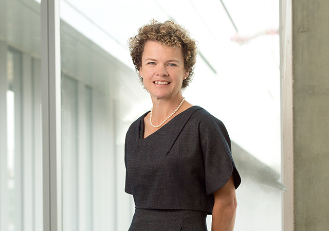 Photo of Susan Gilmour, chair of the Department of Pediatrics