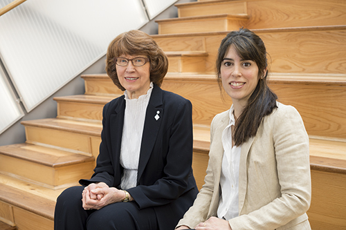 Charlene Robertson and Florencia Ricci