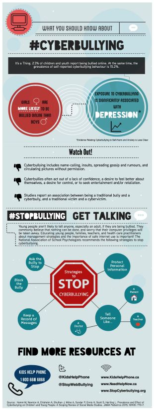 Cyberbullying Infographic - Consumer Audience