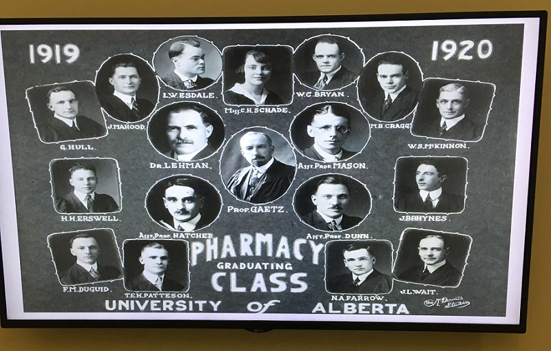 Faculty of Pharmacy Grad Photo 1919-1920
