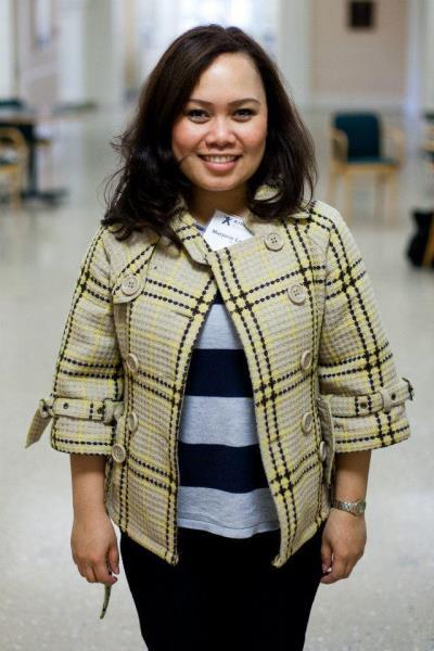Marjorie Landicho, AIEPB student 2013-14