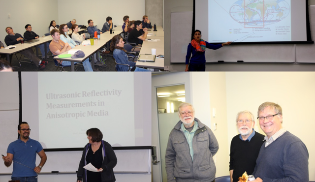 Photos from the 2015 IGR Graduate Symposium. Collage: Bruce Sutherland.