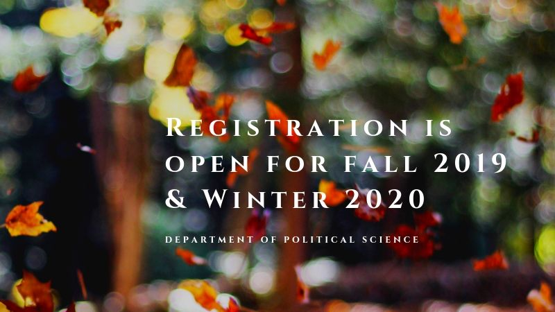 Political Science | Faculty of Arts