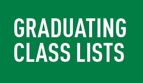 Graduating class lists