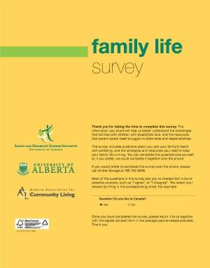 Family Life Survey