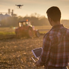 A UAlberta researcher is testing drone technology during the 2018 growing season to find out whether it can help farmers and insurance adjusters get better estimates of crop damage caused by weather.