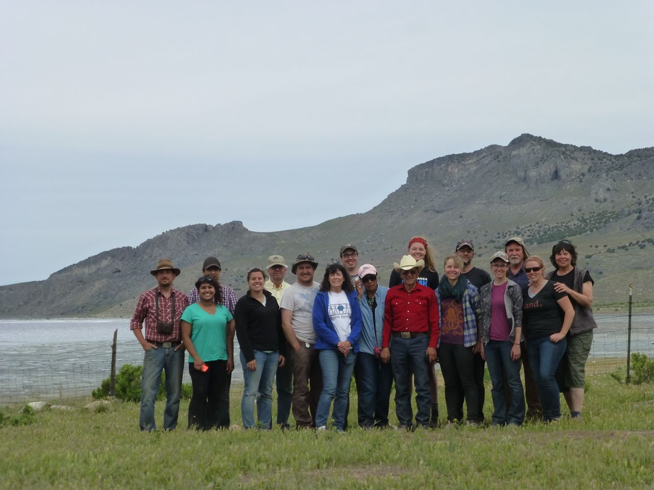 Promontory excavation team 2014