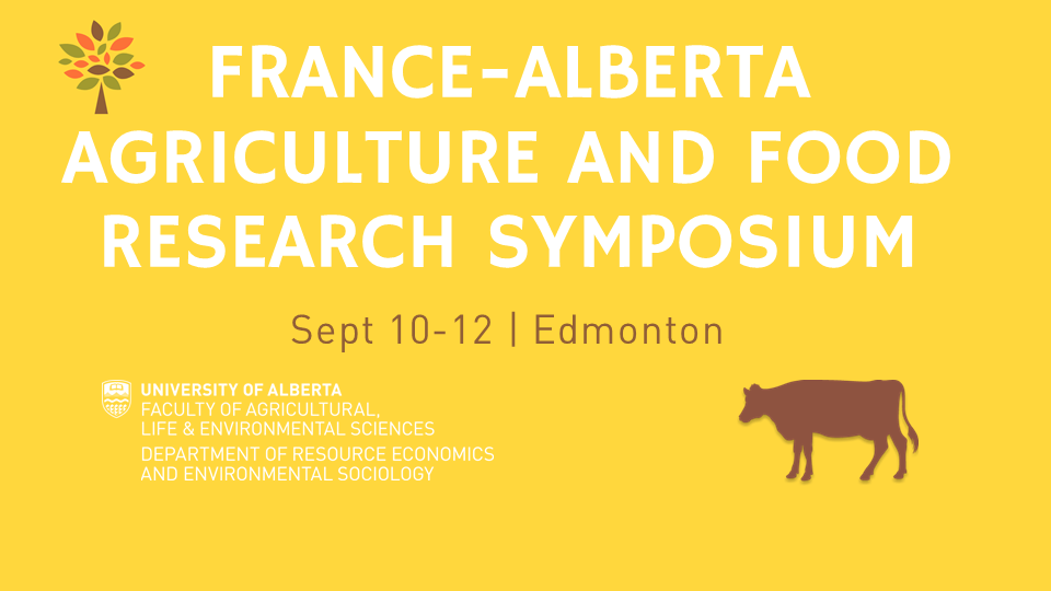 France-Alberta Agriculture Research Symposium