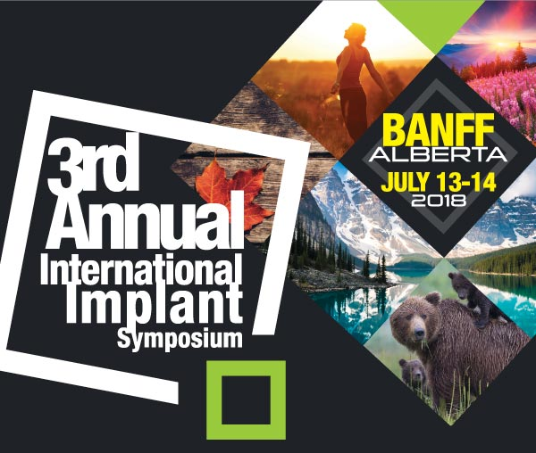 University of Alberta International Implant Symposium 2018