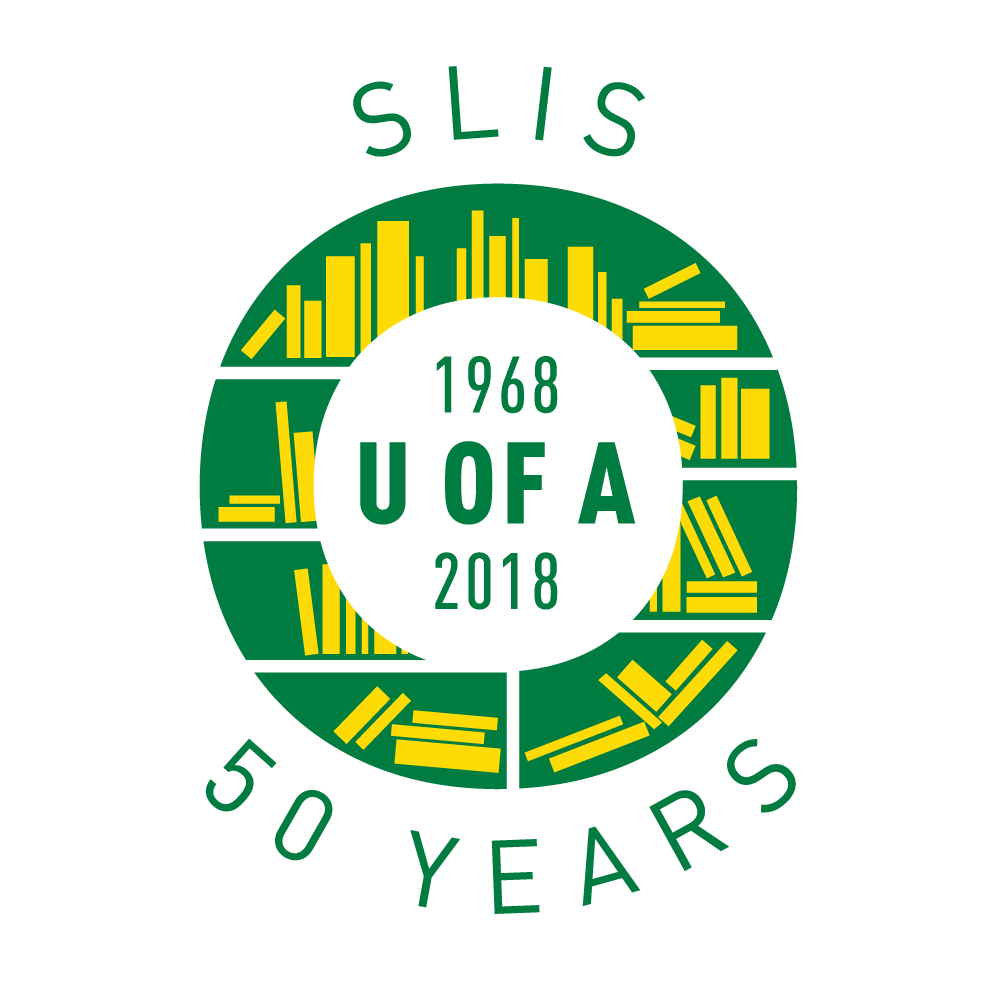 """Text """"SLIS 50 Years 