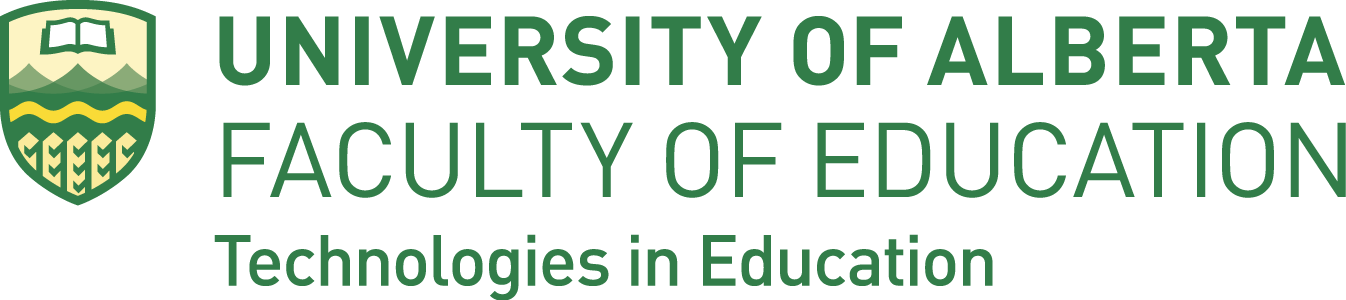 University of Alberta | Faculty of Education | Technologies in Education